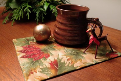 Judy's mug rug