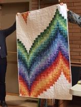 Pat's bargello quilt