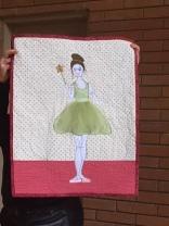 Maureen's ballerina quilt