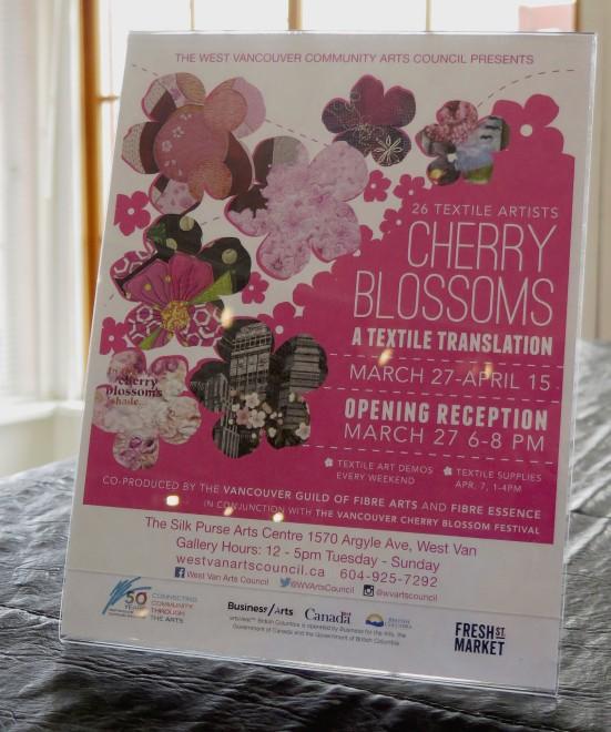 Cherry Blossoms: A Textile Translation 2018