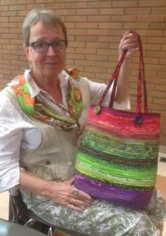 Clothesline bag workshop - Anne tote