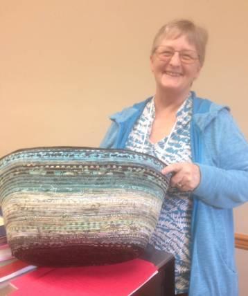 Clothesline bag workshop - Katherine G basket