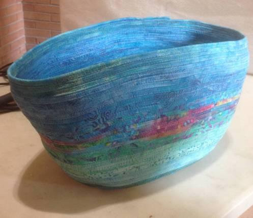 Clothesline bag workshop - Marilyn C basket