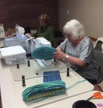 Clothesline bag workshop - Marilyn C