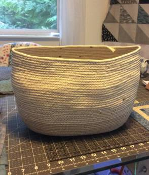 Clothesline bag workshop - Penny N basket