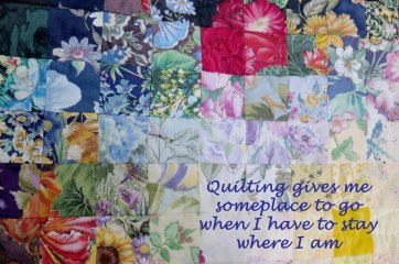 quilt and quote