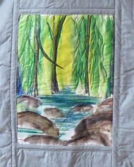 detail - Diane's quilt