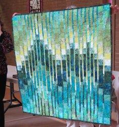 Linda's bargello quilt