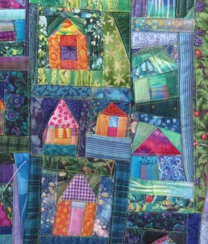 detail - miniature quilt