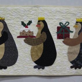 three wise penguins