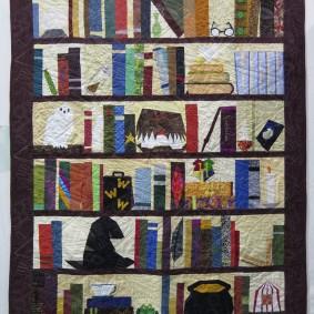 a Harry Potter quilt