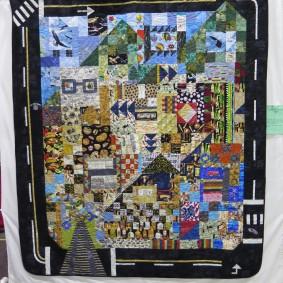 a road trip quilt