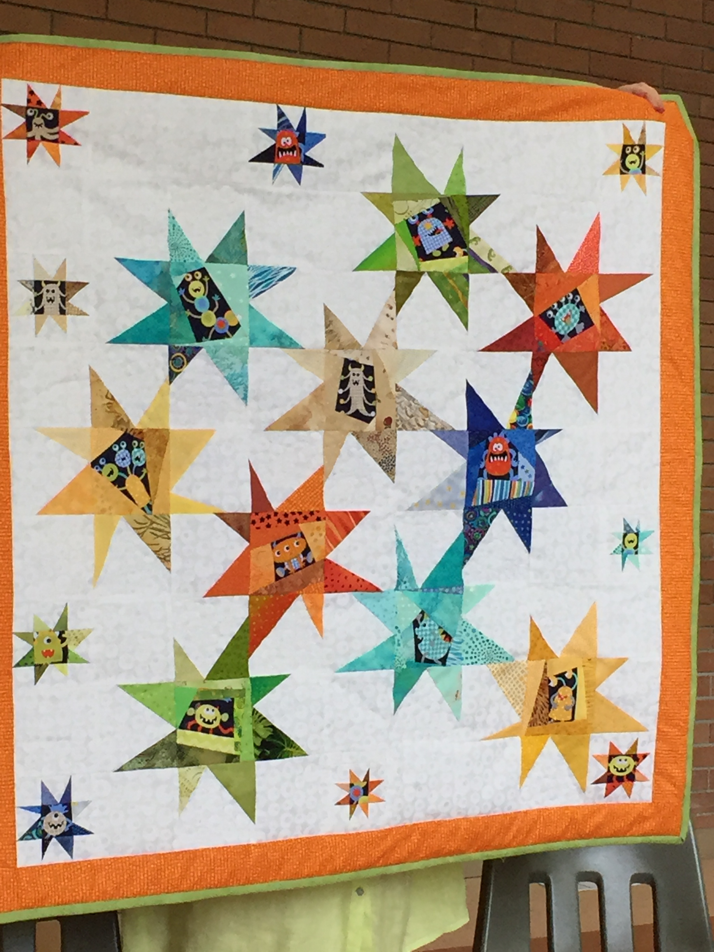 Wonderful Wonky Stars Seymour Quilters Guild