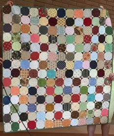 Linda R's snowball quilt - her favourite