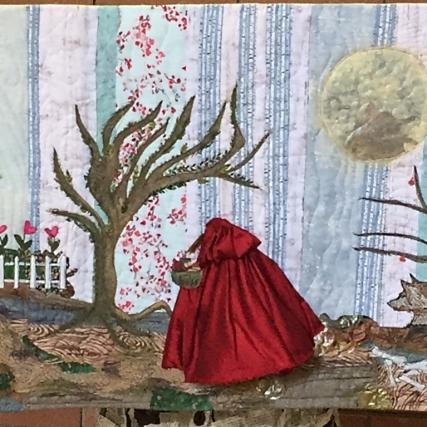 "Maureen's quilt - ""Object of Desire"""