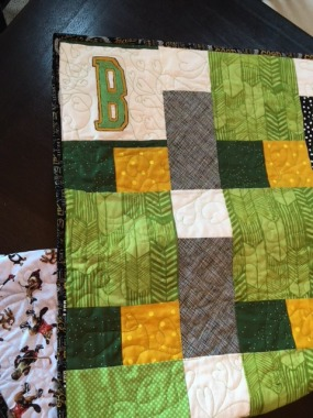 a quilt for the Humboldt Broncos