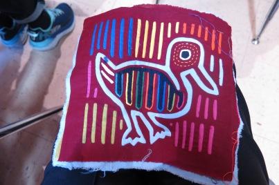 Anne R's mola - trip souvenir